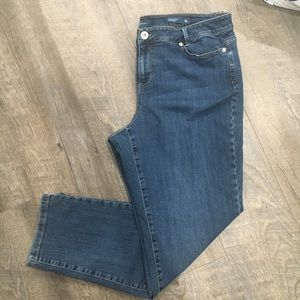 J. Jill denim weekender straight leg size 16 pet